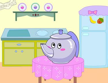 幼儿英文歌曲-我是一把小茶壶