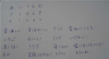 【手写作业】一起来写蝌蚪文咯(あいうえお)
