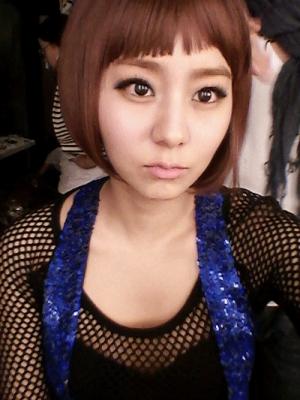 韩语国短发可爱