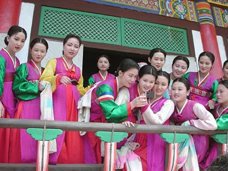 起关注的北朝鲜美女团中