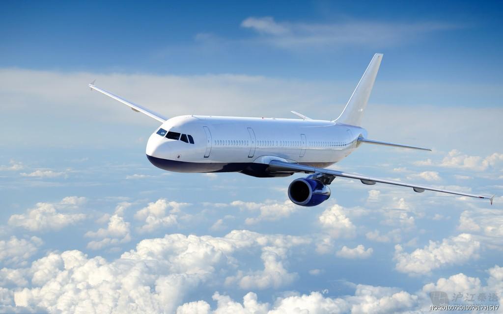 在天空中翱翔的飞机,飞机身上的各个零件应该怎么
