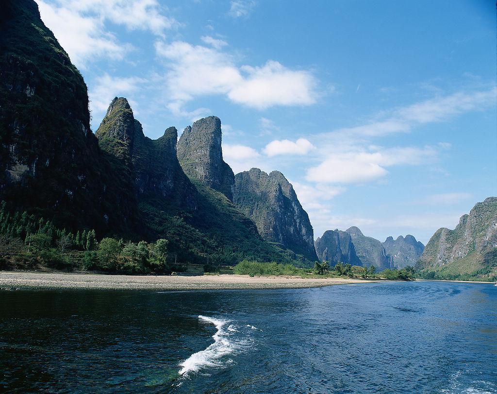 桂林山水的图片素材
