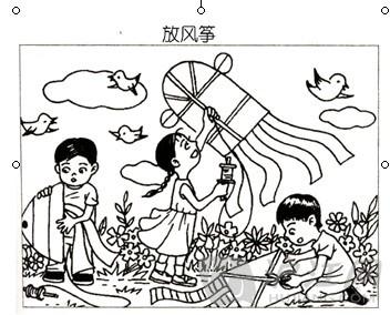 看图写话习题汇总_二年级作文_沪江小学资源网-.