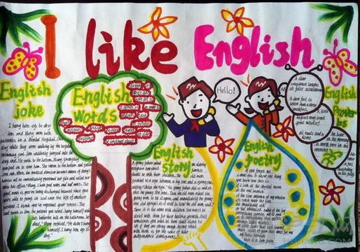 五年级英语手抄报(一)