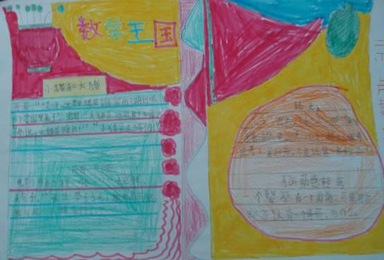 二年级数学手抄报(四)