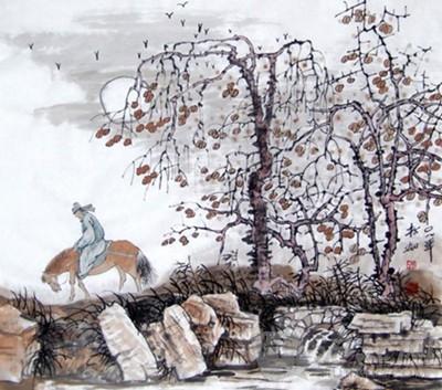 小学古诗三百首:天净沙·秋思图片