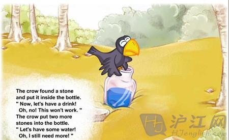 乌鸦喝水简笔画-have some water