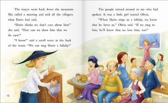 幼儿英语 海尼曼阅读级别 grade2 龙的摇篮曲