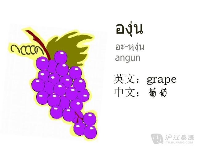 紫色葡萄ppt背景