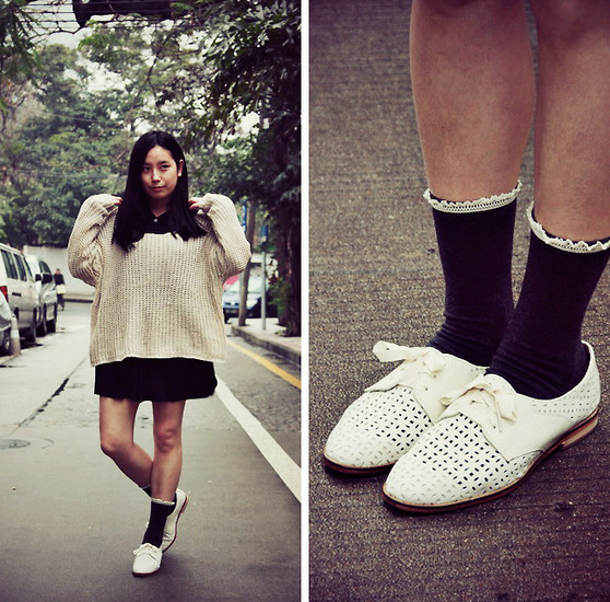 韩国时尚:皮鞋和袜子如何搭配?