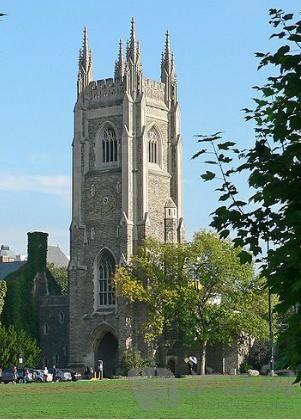 加拿大多伦多大学风景